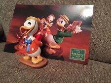 "WDCC Disney Mr. Duck Steps Out Dewey- ""I Got Something For Ya"" w/postcard & COA"