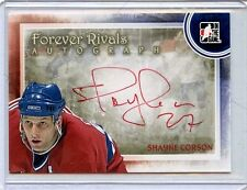 2012/13 ITG FOREVER RIVALS SHAYNE CORSON AUTOGRAPH