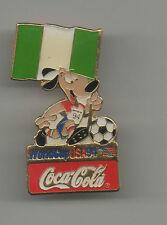 ORIG. pin WM estados unidos 1994 // mascota Striker + WM participantes nigeria!!! Top