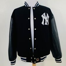 VTG Reversible Baseball Merchandise JH Design New York Yankees Varsity Jacket L