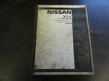 Nissan Model Z24 Industrial Engine Service Manual   1987