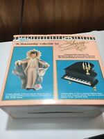 ALDON LIBERACE DOLL SET VERY RARE 1988 COMPLETE MUSICAL PIANO AND CANDELABRA
