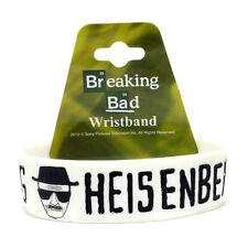 BRAND NEW Breaking Bad Heisenberg Sketch PVC Rubber Wristband ~ Licensed