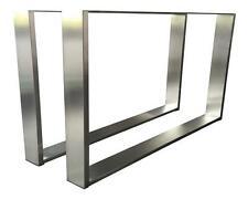 Tischgestell Edelstahl TUG 403 Tischuntergestell Tischkufe Kufengestell 800x730