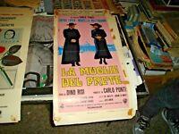 die Frau der Priester Plakat Original 1970 RISI MASTROIANNI LOREN ICH^ Ausgabe