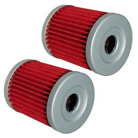 for Arctic Cat 300 4X4 1998 1999 2000 2001 2002 2003 2004 2005 Oil Filter 2-Pack
