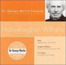 Sir George Martin Presents Holst & Vaughan Williams ECD (CD, Apr-2002, Compendia