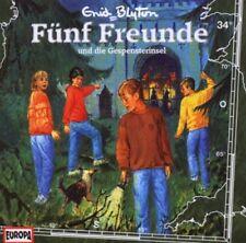 CD * F�œNF FREUNDE - H�–RSPIEL / CD 34 - UND DIE GESPENSTERINSEL # NEU OVP =