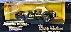 Ertl 33059 American Muscle Shelby King Cobra 1/18 Die-cast MIB