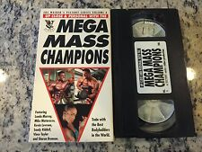JOE WEIDER'S VICTORY SERIES VOLUME 6 UP CLOSE PERSONAL w/MEGA MASS CHAMPIONS VHS