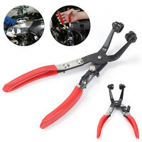 45° Angled Car Water Pipe Hose Clip Pliers Clamp Swivel Drive Jaw Locking Tool