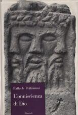 L'omnisciencia de Dio Raffaele Pettazzoni. Einaudi. 1955. C40