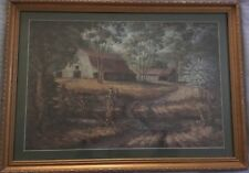 """Vintage Billie Nipper Signed Print """"REFLECTIONS OF SUMMER"""" Tennessee"""