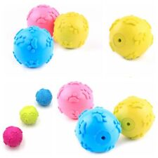 Squeaky Ball Pet Chew Play Toys Interactive Rubber Dog Ball Toys For Puppies