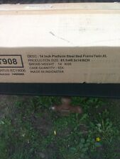 14 Inch Platform Steel Bed Frame  Twin XL