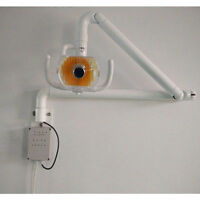 50W Wall Hanging Dental Surgical Exam Lamp Shadowless Cold Light with Arm