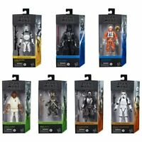 Star Wars The Black Series 6-Inch Action Figures Wave 1 Case Set of 7 Figures