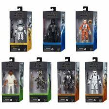 Star Wars The Black Series 6-Inch Action Figures Wave 1 Case Set of 7 Figures