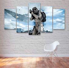 Stormtrooper Star Wars Movie 5 Panel Canvas, Wall Art, Multi Panel Canvas #016