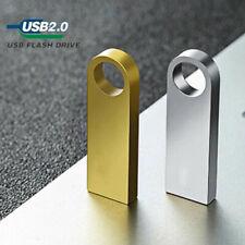 64GB 32 Metall USB Flash Laufwerke Pen Thumb Stick U Disk Media Speicher Auto PC