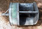 Vintage Antique Galvanized Oil Heater or Light