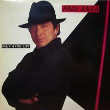 Paul Anka(Vinyl LP)Walk A Fine Line-CBS-CBS 25229-UK-Ex/NM