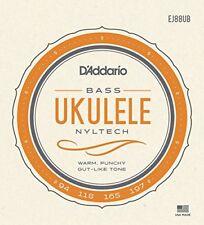 D'addario Ej88ub cordes pour Ukulele basse Nyltech