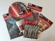Star Wars Party Supplies Dine and Decorate Bundle