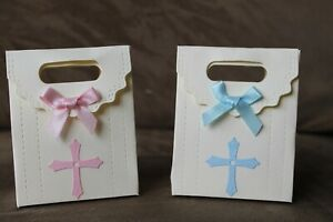 10 x Christening / First Communion Favour /  Gift Boxes