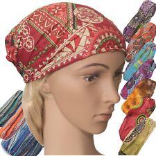 Bandana-Kopftuch Baumwolle Gummizug Piratentuch Mütze Bandanas  Batik Goa Bunt
