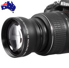 58mm 2x Magnification Telephoto Lens FOR Nikon D3100 D3300 D5100 D5200 D5300 D90