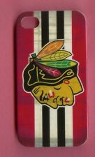 CHICAGO BLACKHAWKS 1 Piece Glossy Case / Cover iPhone 4 / 4S (Design 2)+ Stylus