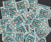 Postage Stamps For Crafting: 1961 4c Nursing/Nurses; Blue/Orange; 50 Copies