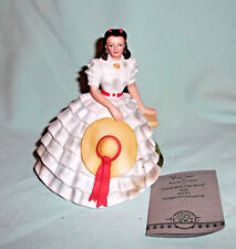 Scarlett O'Hara Avon Images of Hollywood Figurine Gone with the Wind 1983