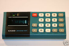 VINTAGE 1979  CASIO PERSONAL MINI CALCULATOR
