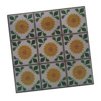 Miniatur Boden Bodenbelag Holz Mosaik Fliesen für 1/12 Puppenhaus Zubehör