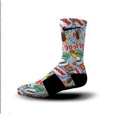 Custom Nike Elite Socks All Sizes CARTOON BUBBLES