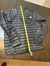 Mens NORTH FACE SUMMIT SERIES 800 Down Fill Full Zip Black Puffer Coat Size XL