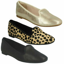 Leather Casual Loafers Moccasins Flats for Women