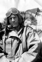 OLD LARGE PHOTO AVIATION HISTORY Pioneer Aviator explorer Floyd Bennett c1930 5