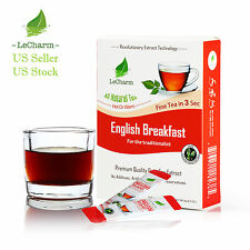 Premium 100% Natural English Breakfast Tea Sugar Free (10 Sachests)