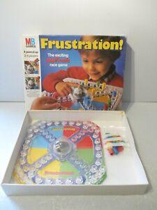 Vintage Frustration MB Games c.1986 - 100% Complete