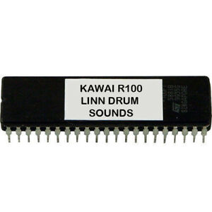 KAWAI R100 and R50 - Linn drum LM2 klingt EPROM LinnDrum