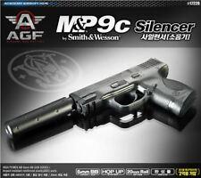 MP9C Silencer Pistol Airsoft Handgun 6mm BB Toy Gun Military
