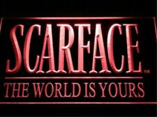 Scarface The World is Yours Bar Beer pub club 3d signs Led Neon Sign