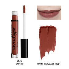 NYX Lip Lingerie Matte Liquid Lipstick Waterproof Cosmetic Exotic