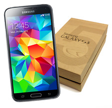 New Samsung Galaxy S5 Verizon/ATT/T-Mobile (GSM UNLOCKED) Black LTE in Box