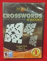Crosswords & Sudoku PC CD Rom New Sealed Game over 46,000 puzzles + crosswords