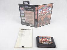 Sega Mega Drive Super Street Fighter 2 No Manual PAL