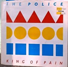 """Music Vinyl Record: The Police """"King of Pain"""" 1983 (45/Single)"""
